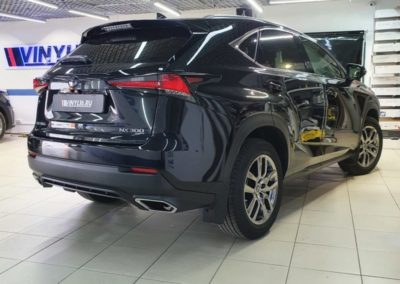 Lexus NX300 — бронирование кузова полиуретановой пленкой
