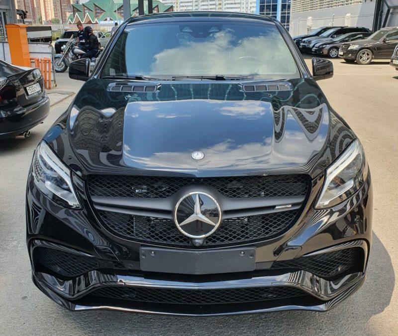 Mercedes GLE — тонировка боковых стекол пленкой Global 65