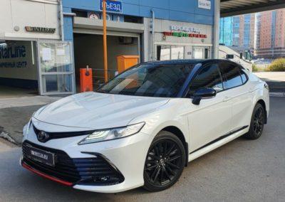 Toyota Camry — бронирование кузова, тонировка стекол пленкой Shadow Guard