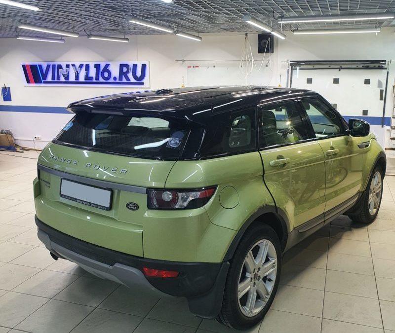 Range Rover Evoque — тонировка стекол пленкой Llumar