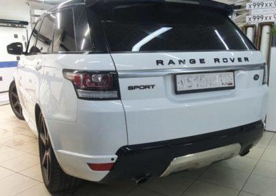 Range Rover — тонировка боковых стекол автомобиля пленкой Shadow Guard 95%