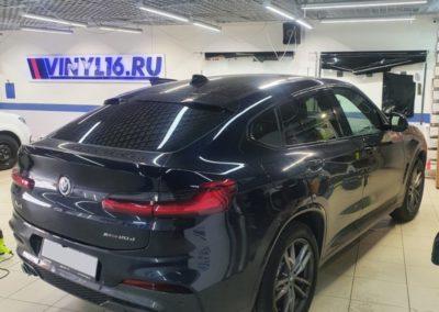 Тонировка стекол автомобиля BMW X4 пленкой Llumar