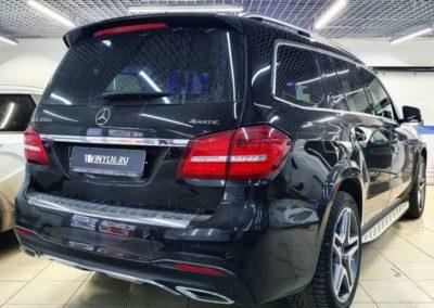 Mercedes GLS 350D приехал за пленкой Global 80% затемнения