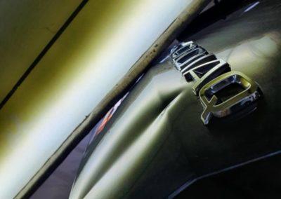 Ремонт вмятины на крышке багажника Skoda Kodiaq