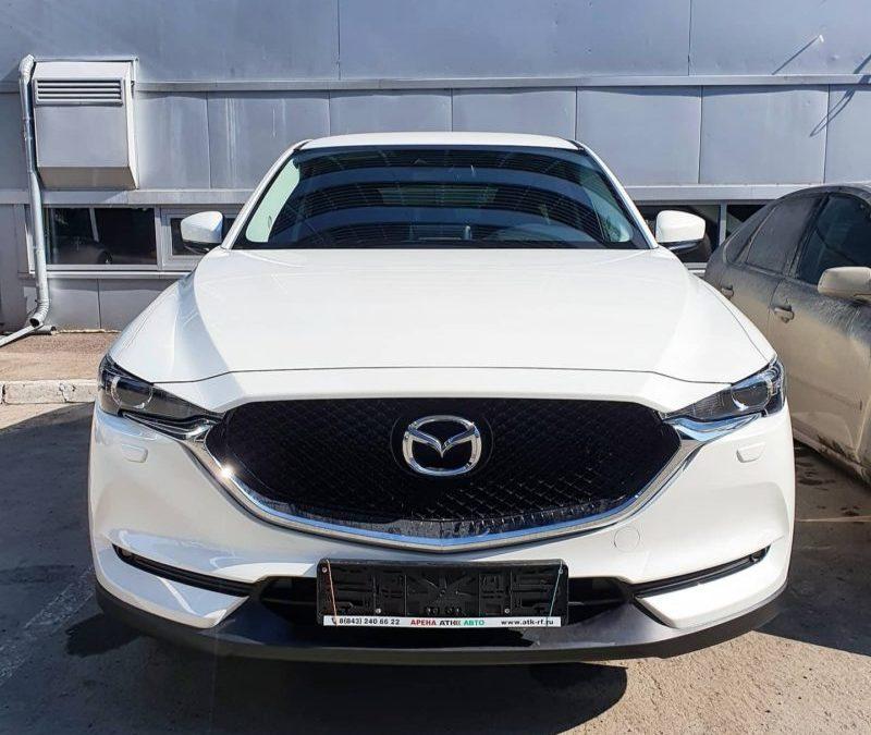 Mazda CX-5 — бронирование кузова, тонировка премиальной плёнкой LLumar 85%, установка StarLine A93 с 2-мя брелкам
