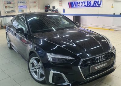 Бронирование полиуретановой пленкой кузова новой Audi A5