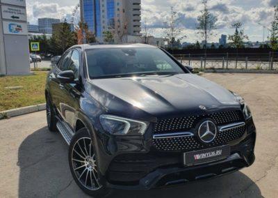 Новый Mercedes GLE Coupe — полное бронирование полиуретановой пленкой