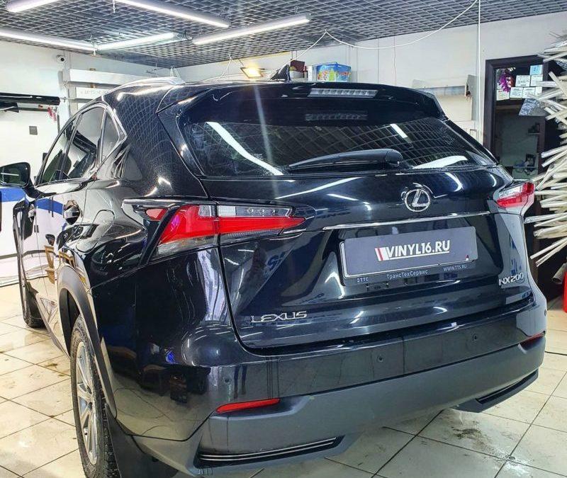 Тонировка заднего стекла автомобиля Lexus NX200