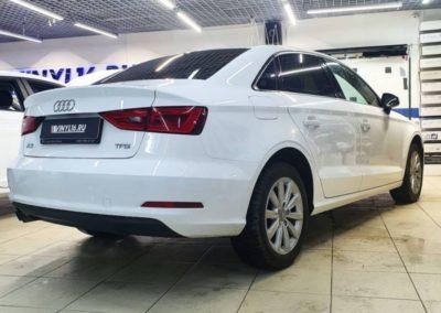 Затонировали заднюю полусферу Audi A3 пленкой LLumar 95% затемнения