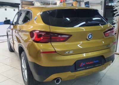 Затонировали стекла автомобиля BMW X2 пленкой LLumar 95