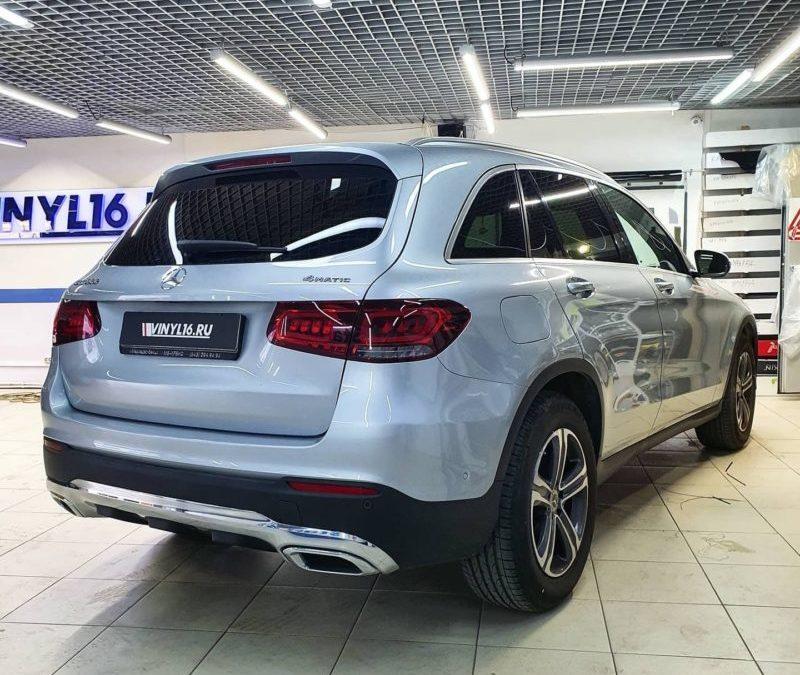Mercedes GLC — затонировали задние стекла пленкой Llumar